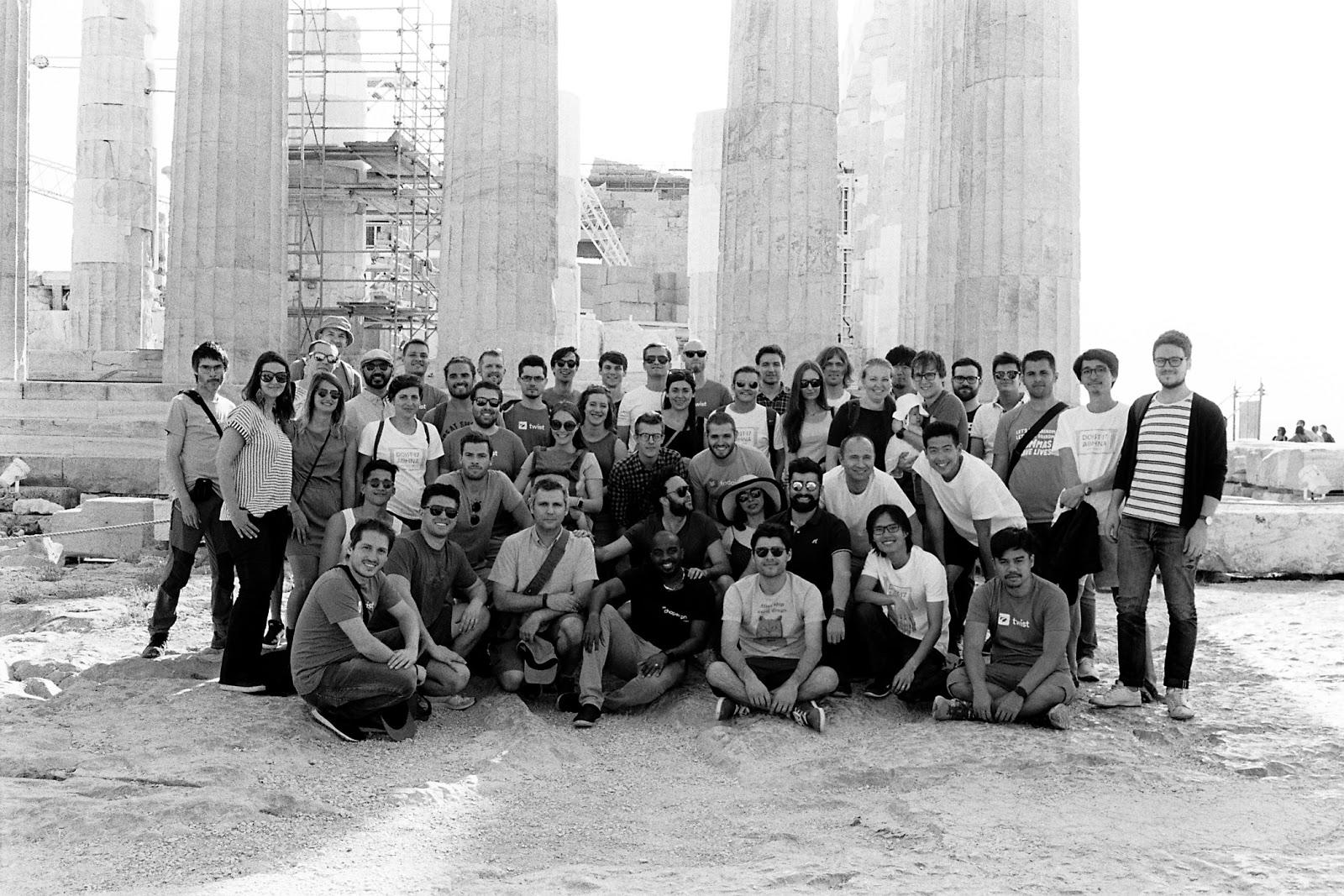 Doist Team in Athens - Remote Dev Teams Guide