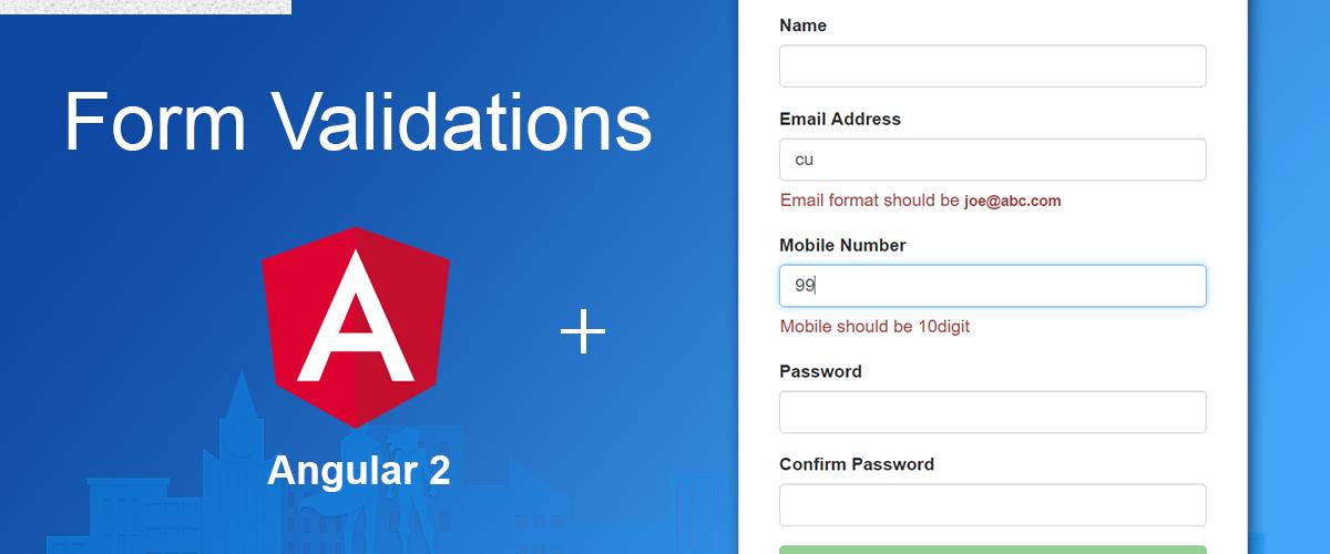 angular form validation