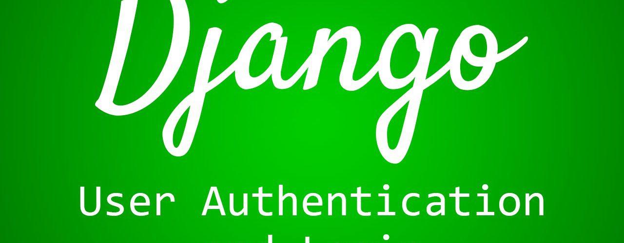 django user registration
