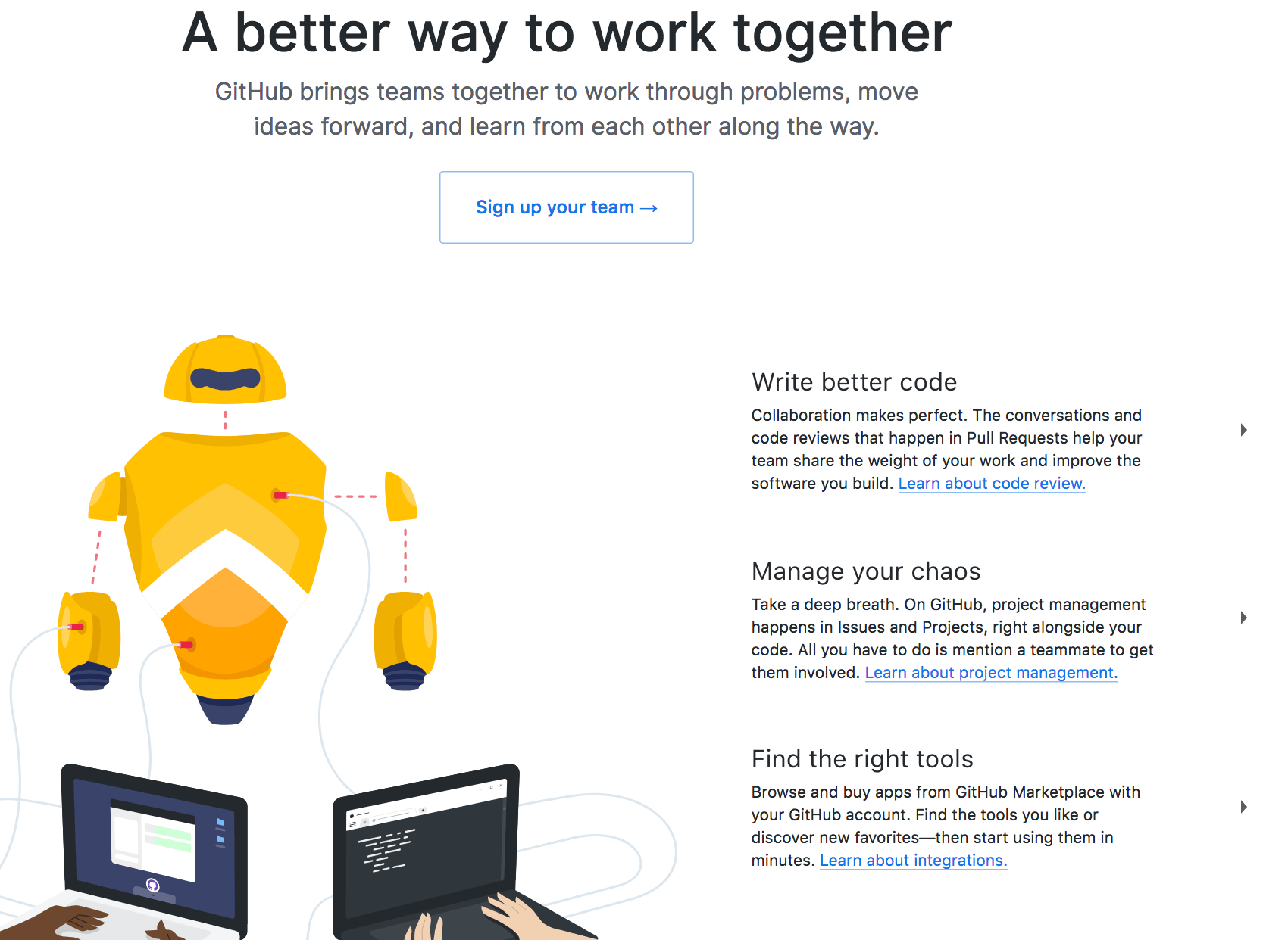 Tools for Code Management in a Remote Team