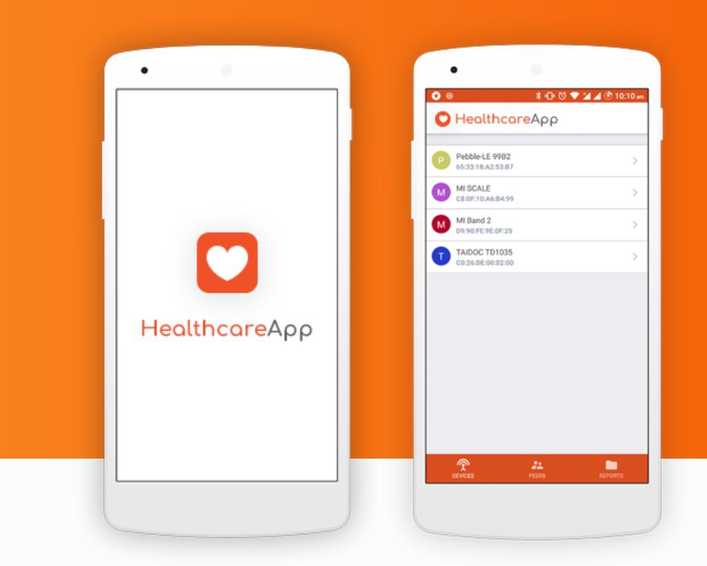 HealthcareApp application