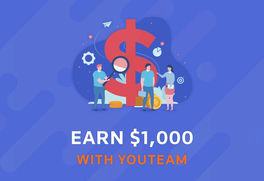EARN 1,000$