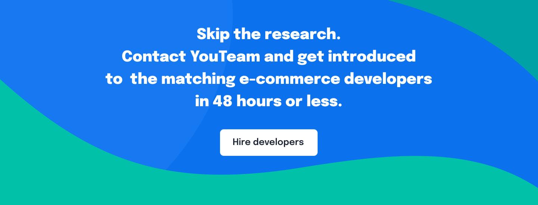 Hire e-commerce developers
