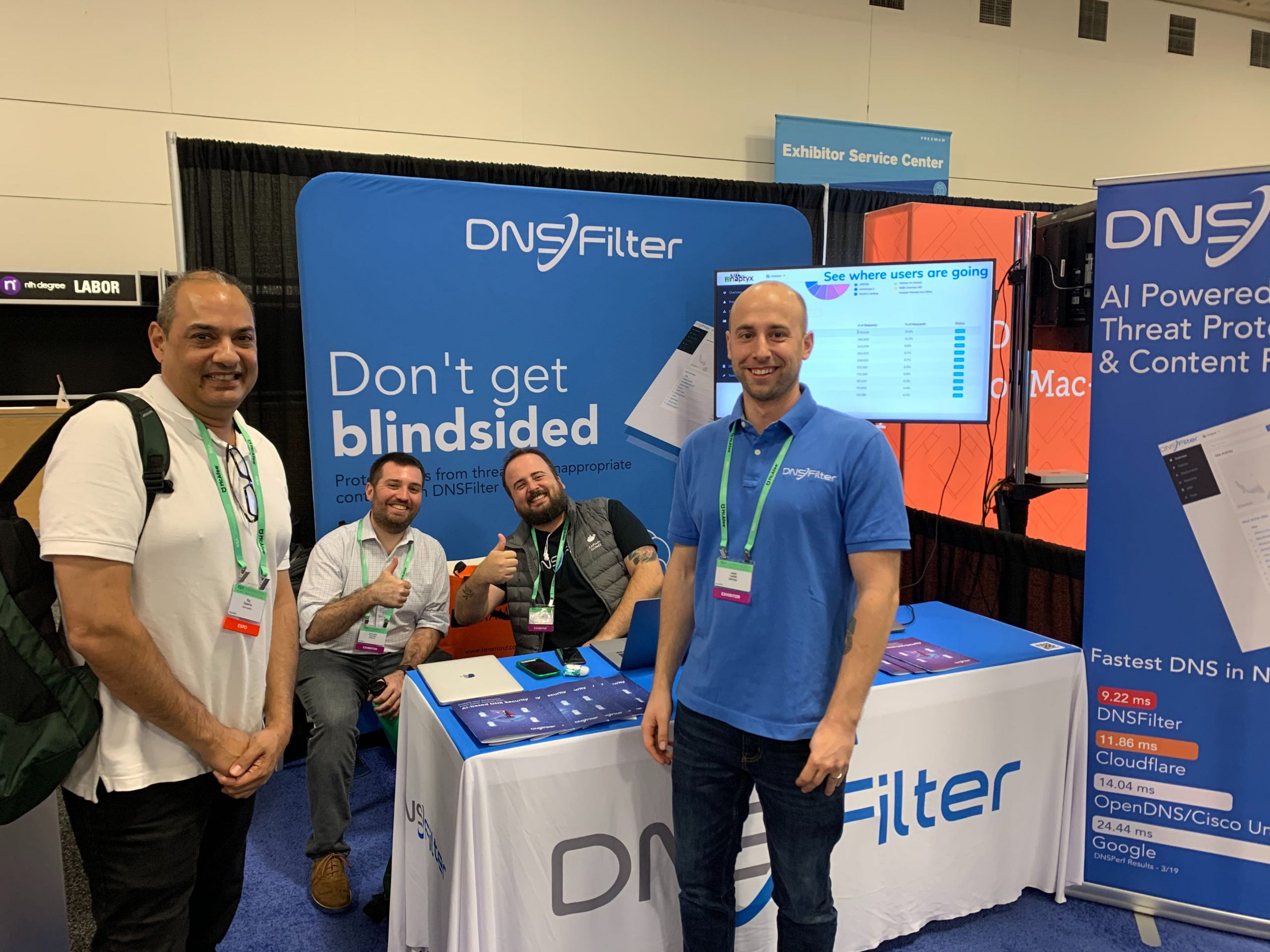 DNSFilter at RSAConference