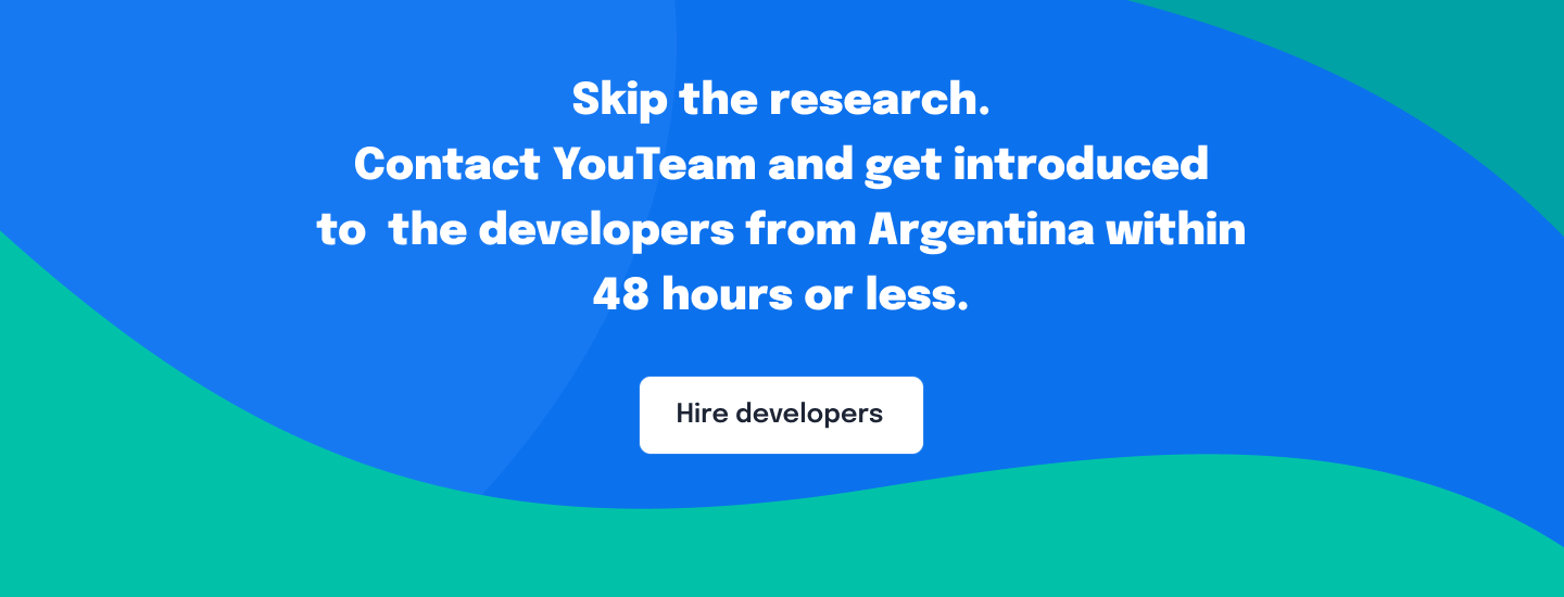 Hire developers from Argentina
