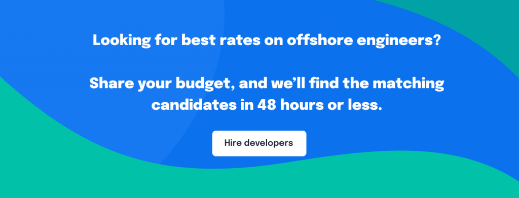 Banner - hire developers