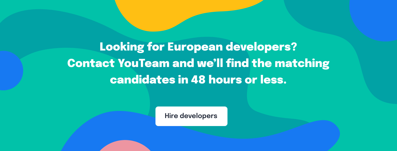 Hire European software developers