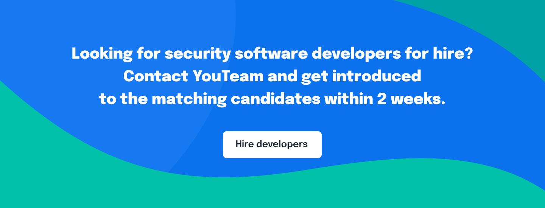 Security software developer