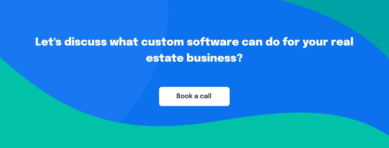 Custom software for real estate